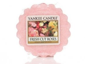 Yankee Candle vosk do aromalampy  FRESH CUT ROSES 22 g