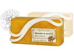 Mýdlo glycerinové závěsné MEDUŇKA 200G