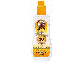 spf 10 spray gel zonnebrandcreme van australian gold copy