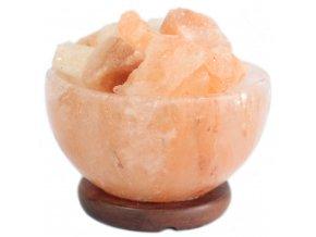 Himalájská Solná Lampa Miska s kusy soli 3 kg