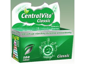 CentralVita® Classic multivitaminy 100 tbl.