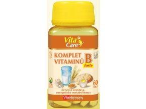 Komplet vitaminů B forte, 60 tbl.