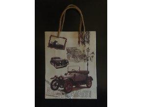 Dárková taška  s motivem aut