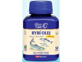 Rybí olej 1000 mg - Omega 3 EPA + DHA - 50 tbl.