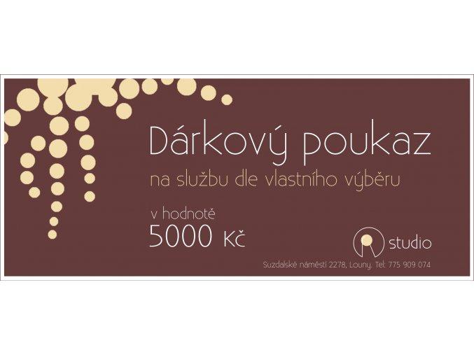 poukazka 5000