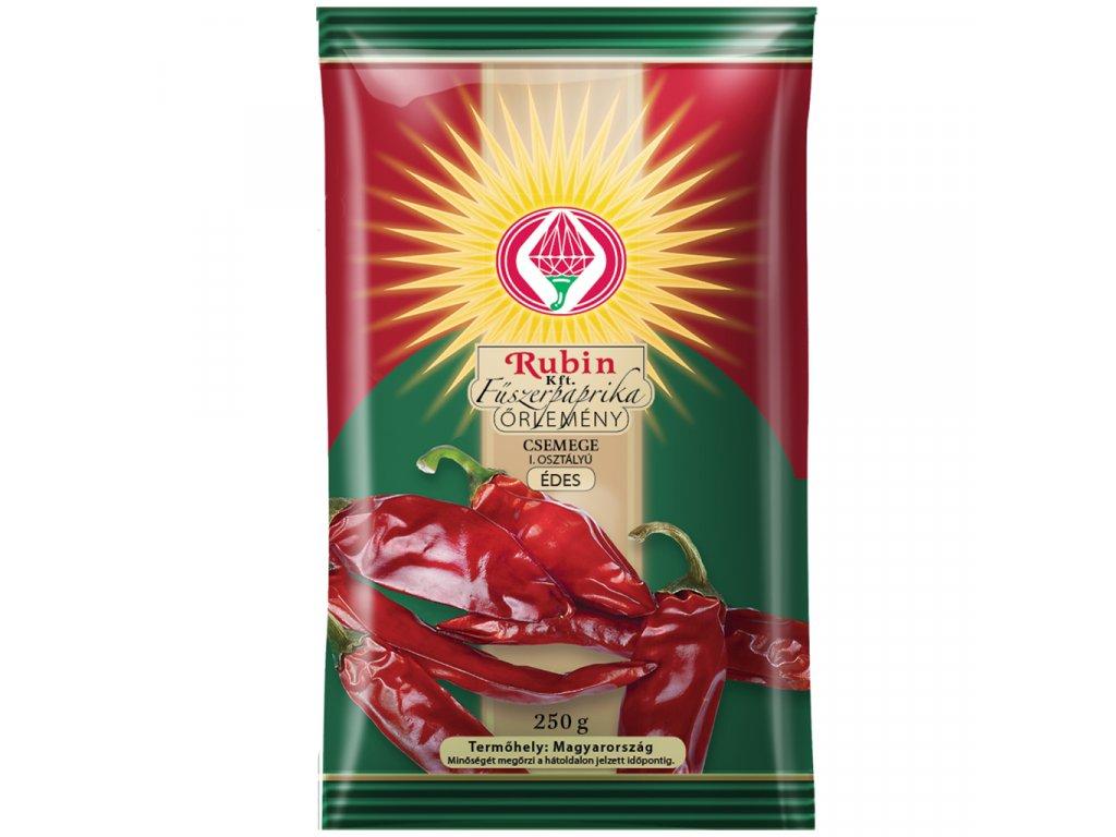 Rubin Csemege Paprika I. jakost sladká 250g