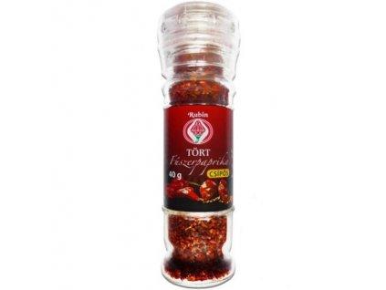 Drcená paprika v kořenkách pálivá 40g