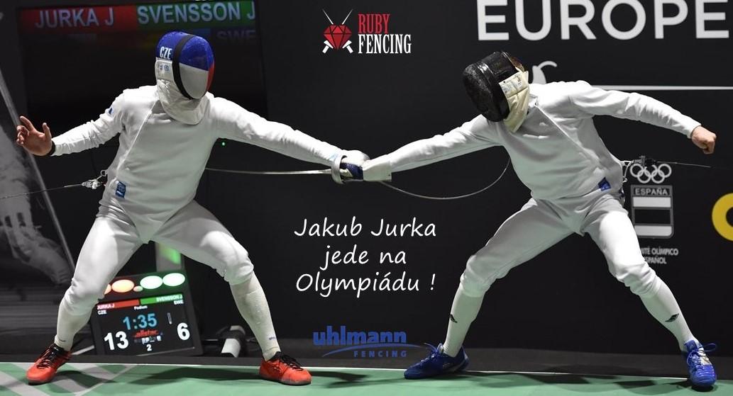 Jakub Jurka jede na Olympiádu !