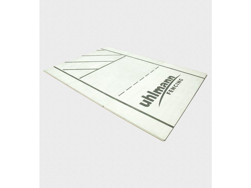 Hliníková šermířská planš Uhlmann 150x100x2CM