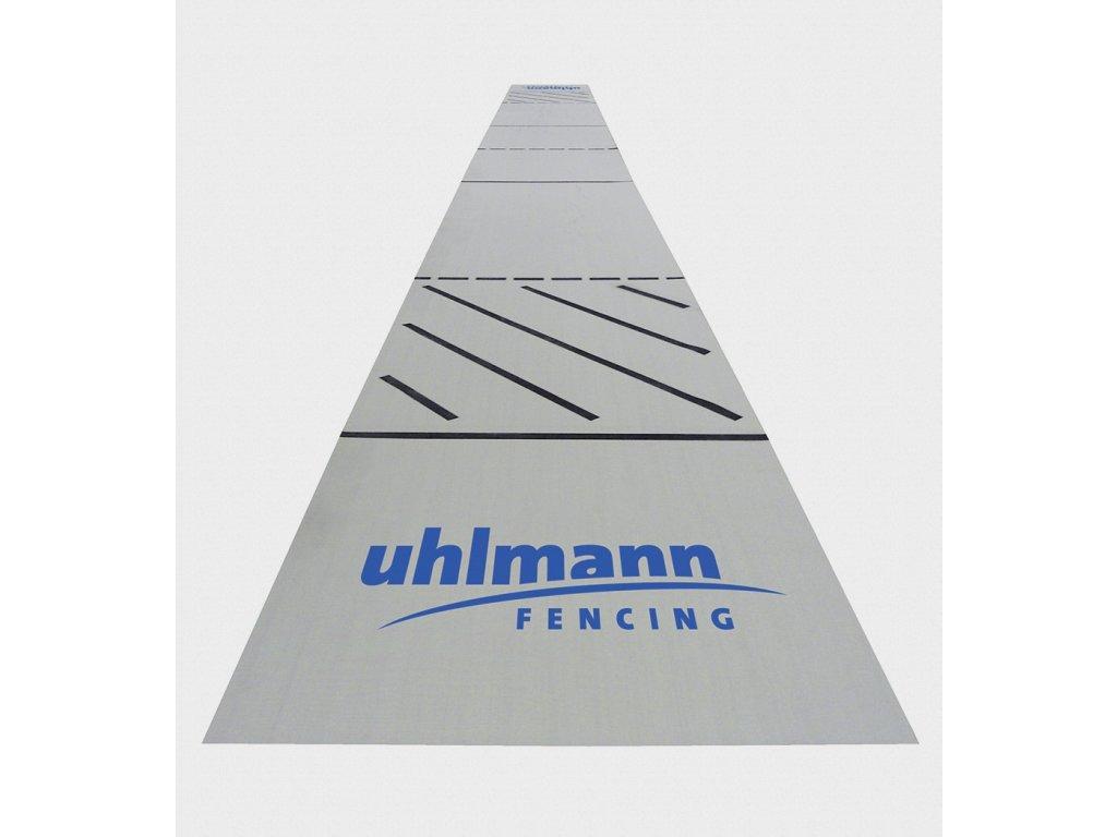 Gumová šermířská planš Uhlmann 17×1,5 m, protiskluzový povrch