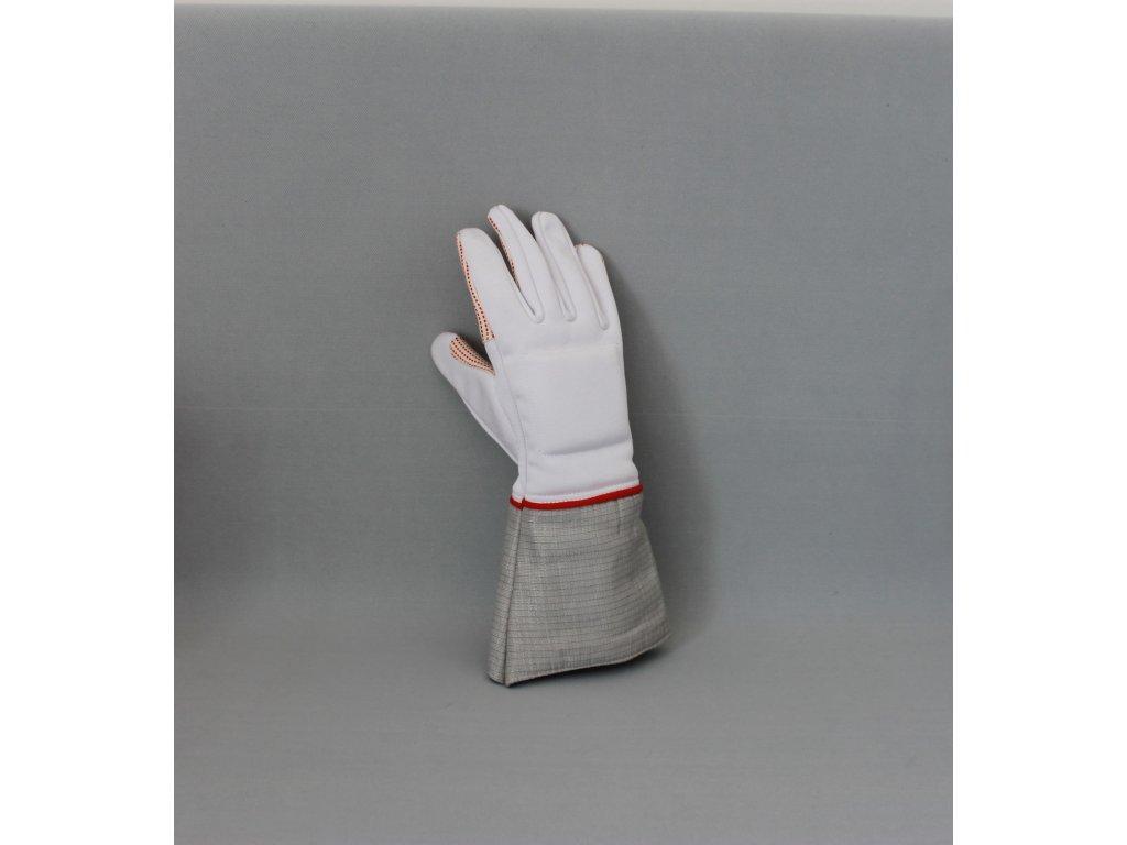 Šavlová rukavice Rubyfencing FIE 800 N
