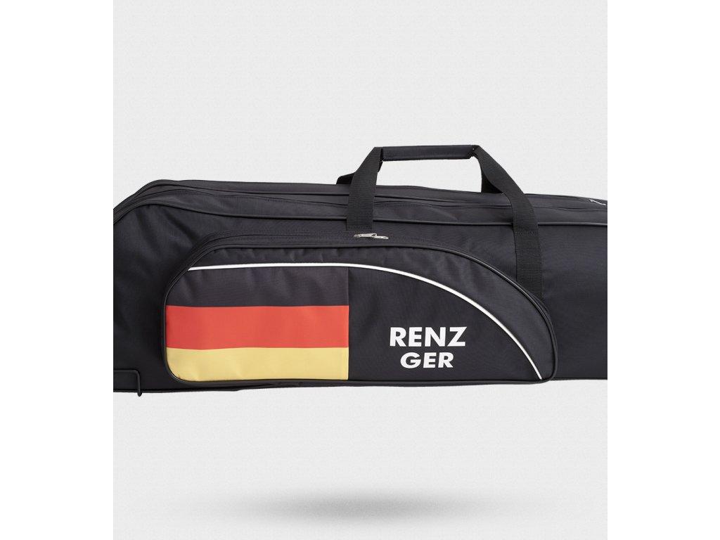 Nástřik vlajky na kapsu tašky