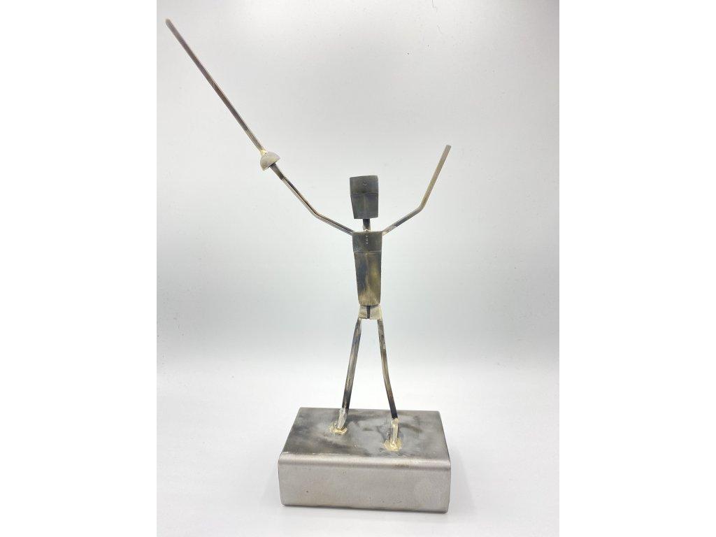 Šermířská trofej 35x20x8 cm