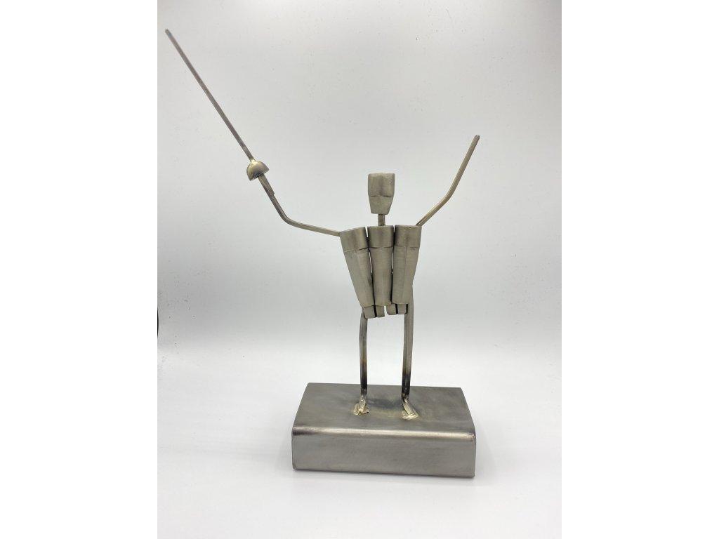 Šermířská trofej 35x25x8 cm