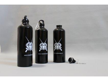 Hliníková láhev Rubyfencing 750 ml.