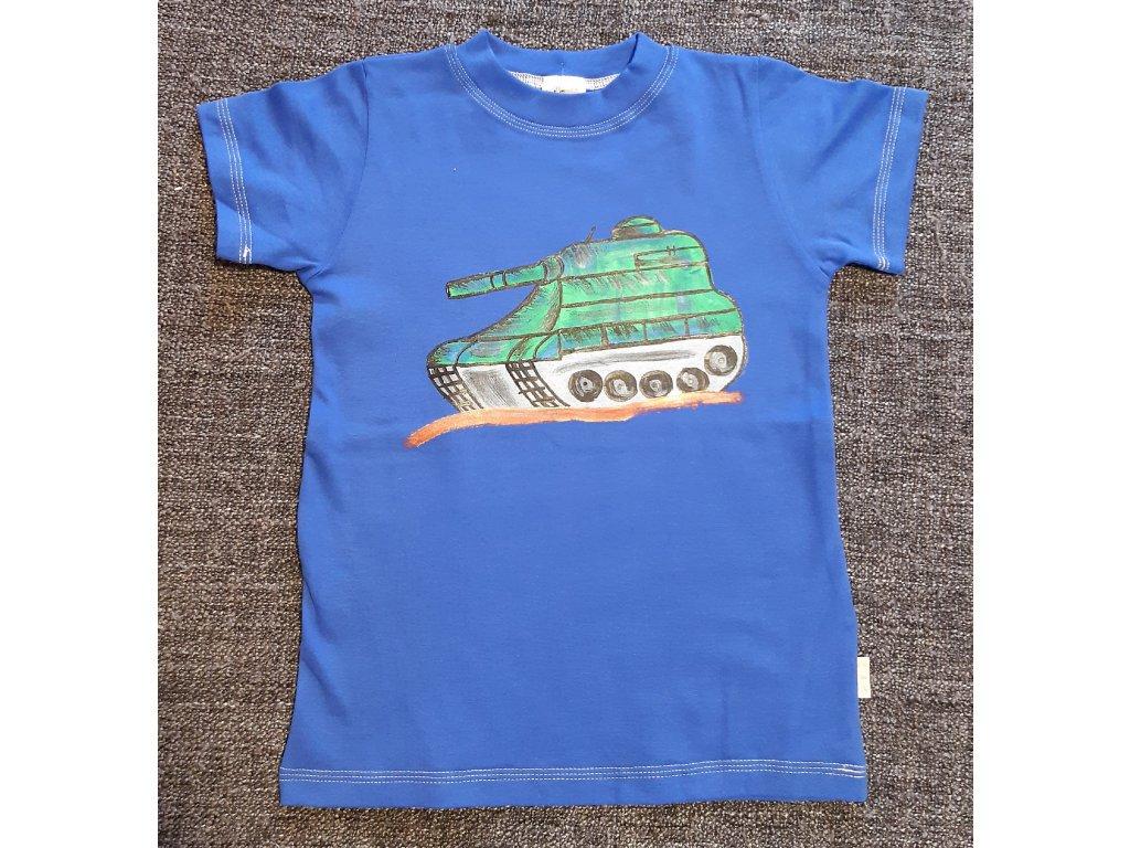 Ručně malované tričko - tank 2