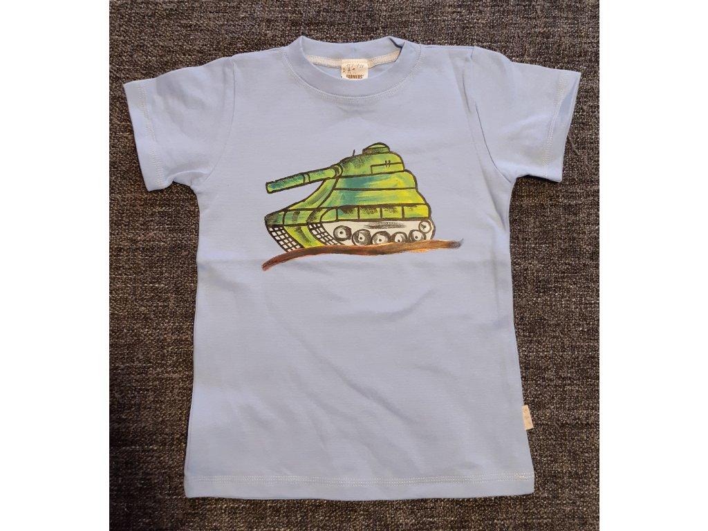 Ručně malované tričko - tank 3
