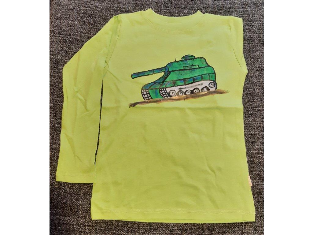 Ručně malované tričko - tank