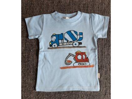 Ručně malované tričko - domíchávač