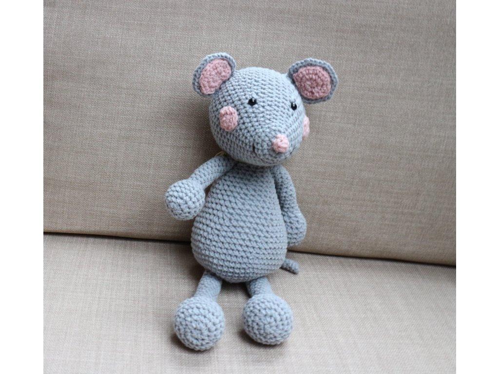 Myška malá šedá