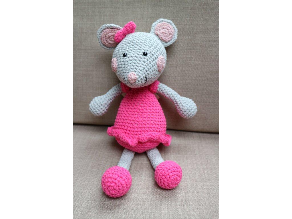 Myška malá růžová