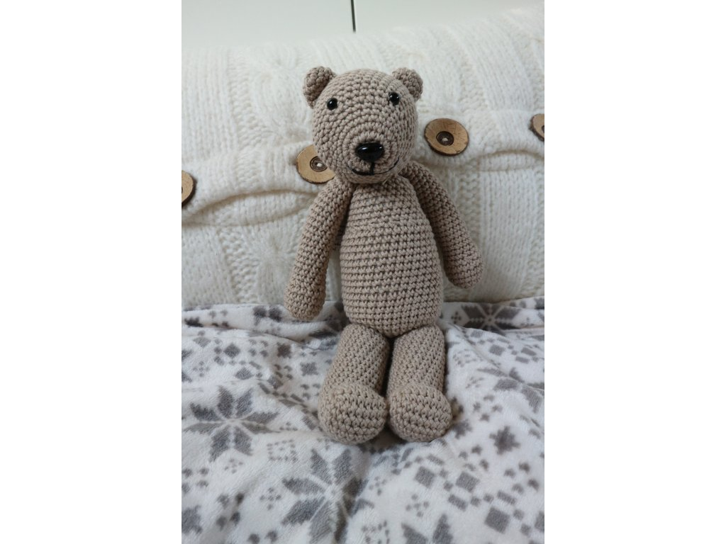 Medvídek šedobéžový