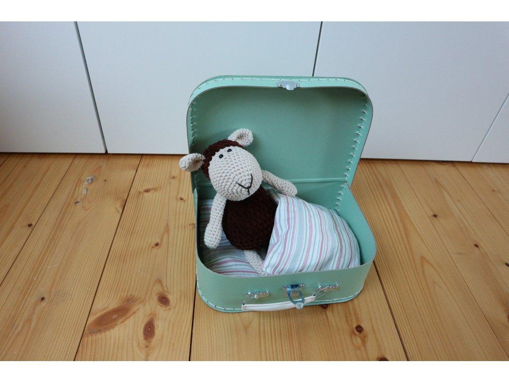 Ovečka čokoládová v mint kufříku