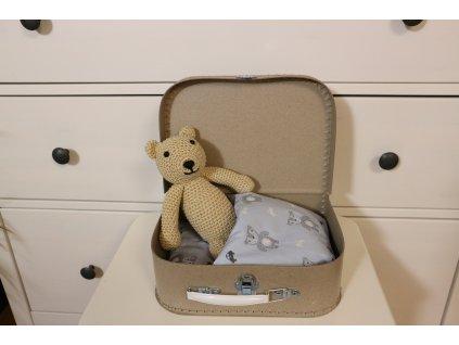 Medvídek v kufříku malý