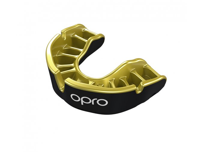 Junior gold Black Gold Fins Mouthguard