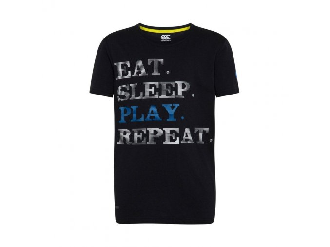 junior play repeat slogan tee p28086 30225 image