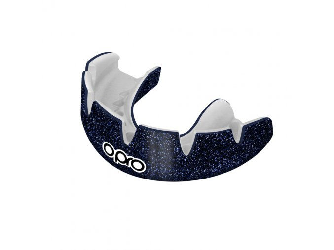 OPRO Power-Fit Braces chránič zubů Galaxy Blue Shimmer