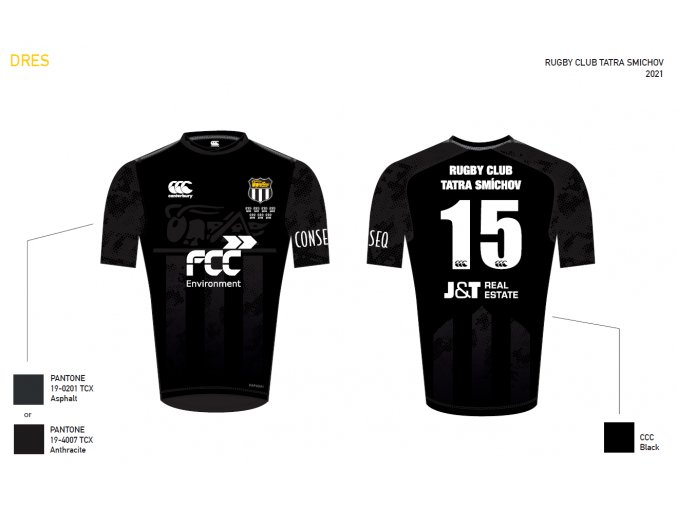 Tatra Smichov A Team Jersey Preview Final