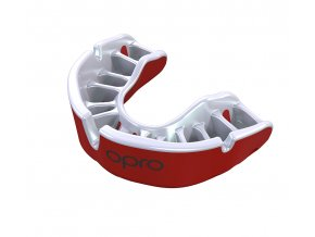 Gold Mouthguard Red Pearl Fins Gold re