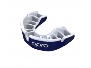 Junior gold Pearl Blue Pearl Fins Mouthguard