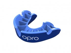 Silver Mouthguard Light Blue Fins Blue Shell.61.Flipped
