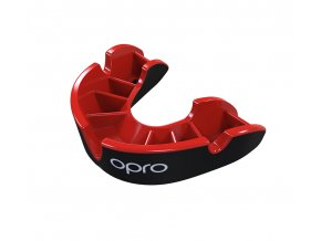 Junior Silver Black Red Fins Mouthguard.404