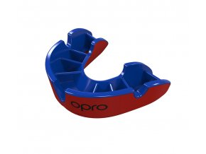 Junior Silver Red Blue Fins Mouthguard.406