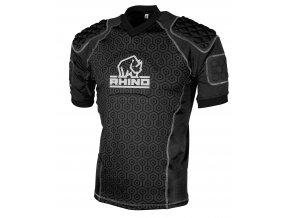 chránič těla Rhino Rugby Pro Body Protection Top Adult Black