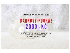 dárkový poukaz 2000,-Kč