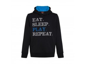 junior play repeat slogan hoody p28082 30261 image