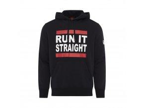 mens run it straight slogan hoody p28065 30309 image