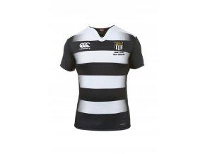 Canterbury Mens Vapodri Challenge Hooped Jersey Black/White