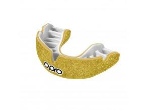 OPRO Power-Fit chránič zubů Galaxy Gold Shimmer