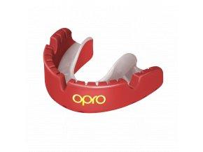 OPRO Gold Braces chránič zubů red pearl