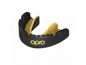 OPRO Gold Braces chránič zubů black gold