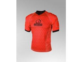 chránič těla Rhino Rugby Pro Body Protection Top Adult Orange