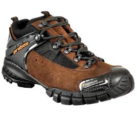 Kožené pracovní boty trekové