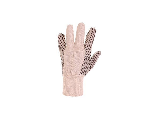 Bavlněné pracovní rukavice canis