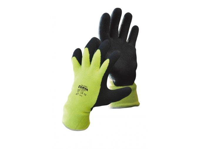 zimní pracovní rukavice palawan winter