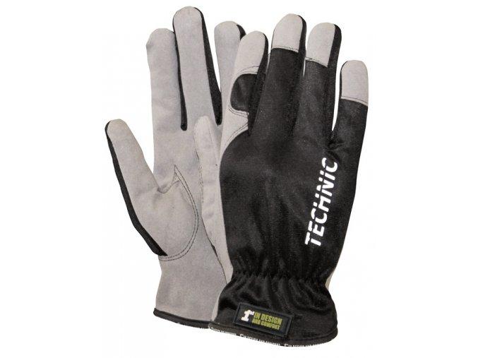 Montérské rukavice 1st Technic
